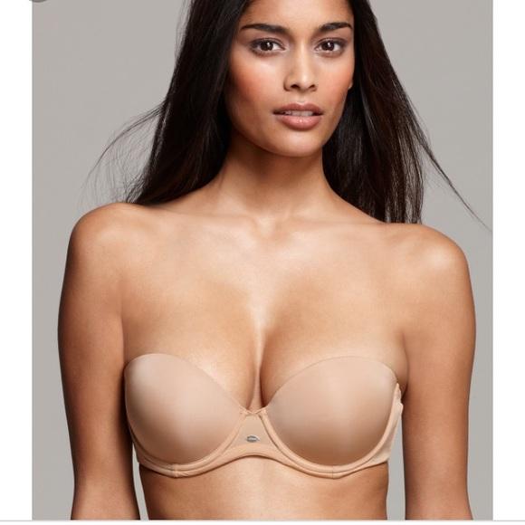 41a9958f502 Calvin Klein Other - Nude Strapless Bra